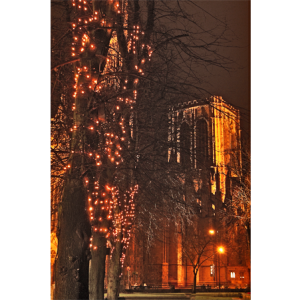 Festive Lights on York Minster