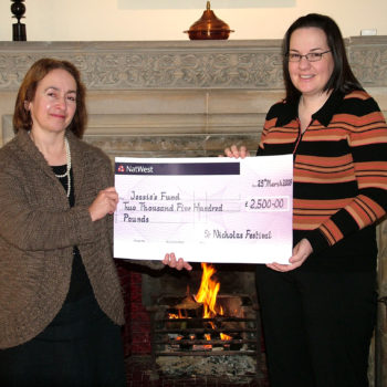 Large cheque image