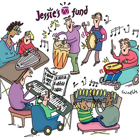 Jessie's Fund music