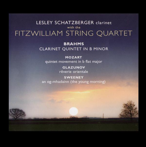 Fitzwilliam String Quartet with Lesley Schatzberger, clarinet