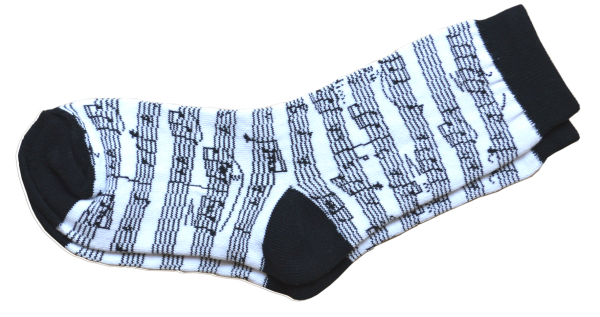 Children's manuscript socks
