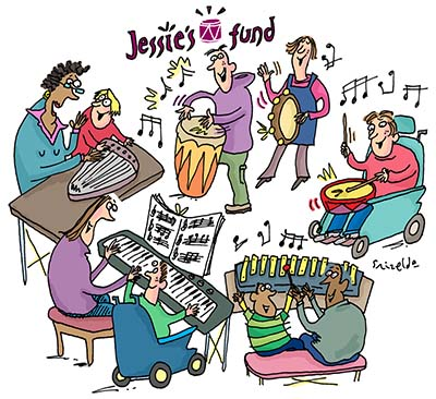 Jessie's Fund cartoon